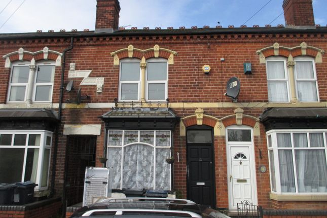 Thumbnail Terraced house to rent in Howard Road, Handsworth