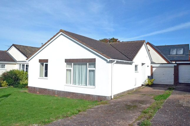 Thumbnail Bungalow for sale in Long Park, Woodbury, Exeter