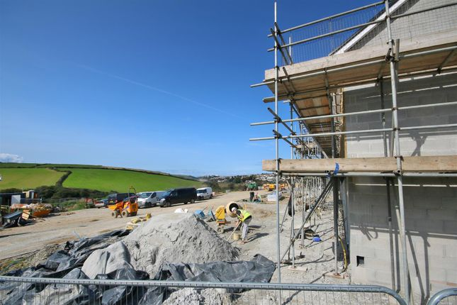 Thumbnail Terraced house for sale in Elm Close, Newquay
