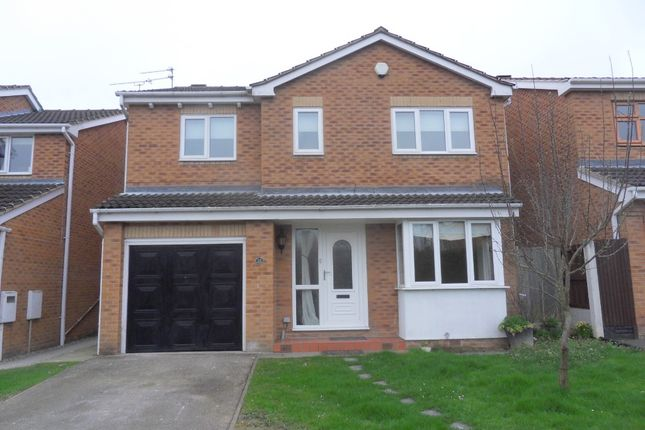 Thumbnail Detached house to rent in Carlton Close, Heanor