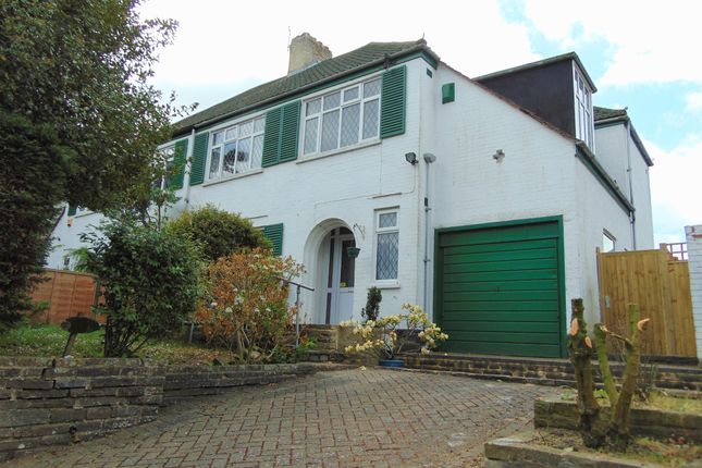 Thumbnail Semi-detached house for sale in Upper Selsdon Road, Selsdon, South Croydon