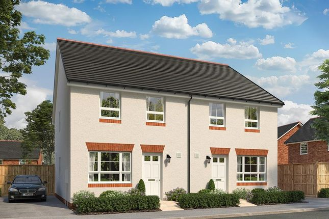 """Thumbnail End terrace house for sale in """"Brue"""" at Sandys Moor, Wiveliscombe, Taunton"""