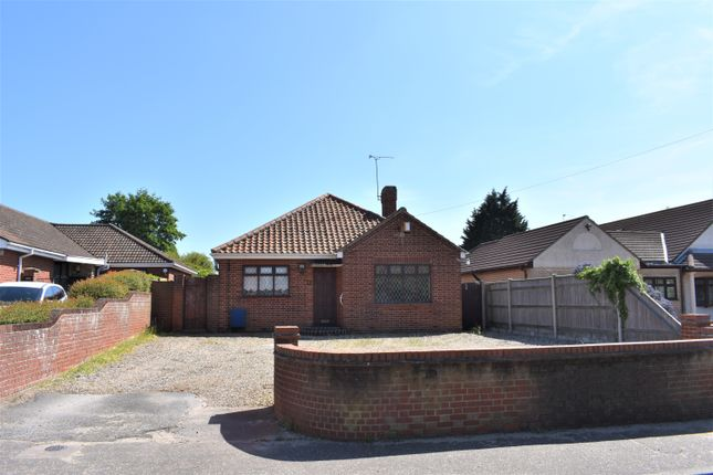 Thumbnail Detached bungalow for sale in Long Lane, Bradwell, Great Yarmouth