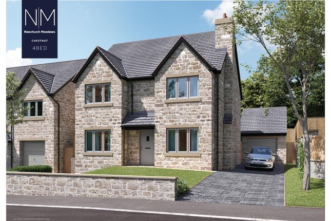 Thumbnail Detached house for sale in Plot 9, Newchurch Meadows, Higher Cloughfold, Rossendale