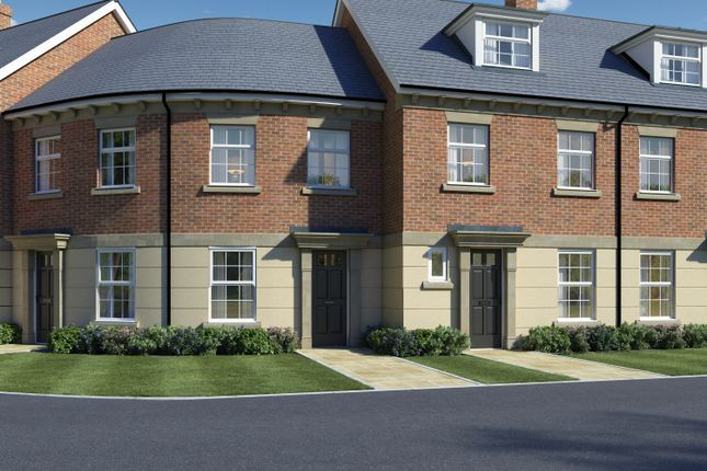 Thumbnail Town house for sale in Tay Road, New Lubbesthorpe, Leicester