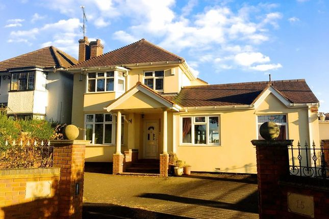 Thumbnail Detached house for sale in North Western Avenue, Kingsthorpe, Northampton