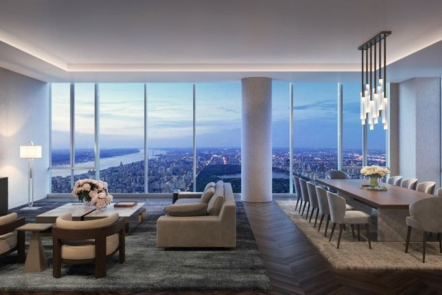Thumbnail Apartment for sale in 217 West 57th Street, 127/128, Central Park Tower, Midtown West, New York, Ny 10019