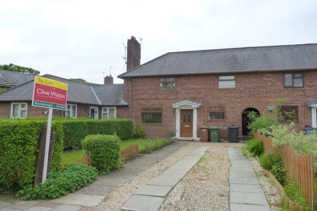Thumbnail Terraced house to rent in Ashfield Crescent, Bromborough, Wirral