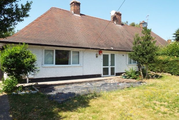 Thumbnail Bungalow to rent in Orston Drive, Wollaton, Nottingham