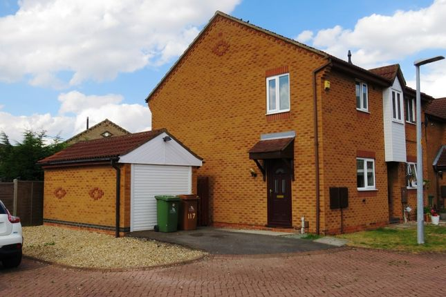 Thumbnail 2 bed semi-detached house to rent in 117 Nelson Way, Grimsby