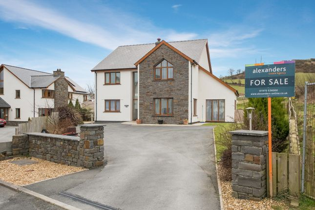 Thumbnail Detached house for sale in Bachyrhew, Rhydyfelin, Aberystwyth