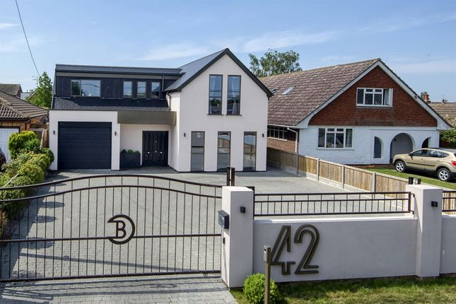Thumbnail Detached house for sale in Maydowns Road, Chestfield, Whitstable