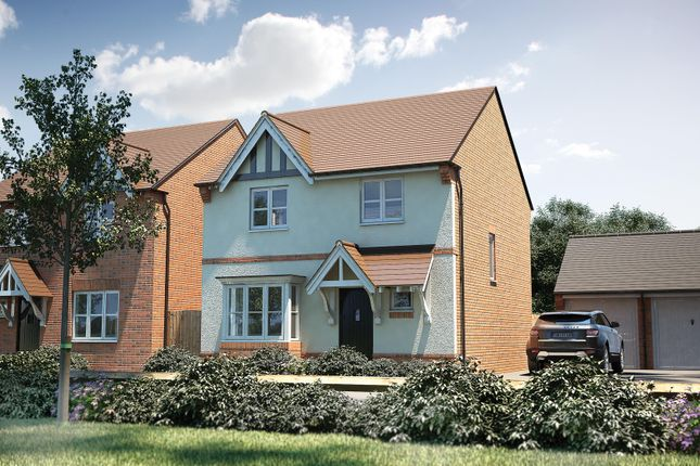 "Thumbnail Detached house for sale in ""The Tattershall"" at Penny Lane, Amesbury, Salisbury"