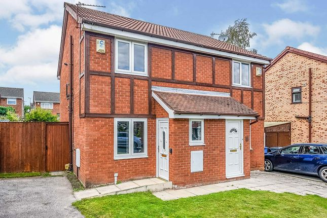 Thumbnail Semi-detached house for sale in Tewkesbury Close, West Derby, Liverpool