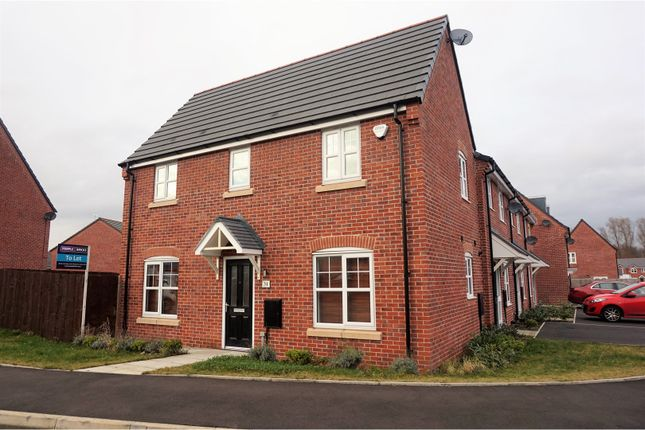 Thumbnail Semi-detached house to rent in Gregory Street, Hyde