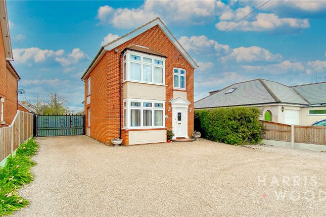 Thumbnail Detached house for sale in Station Road, Tiptree, Colchester
