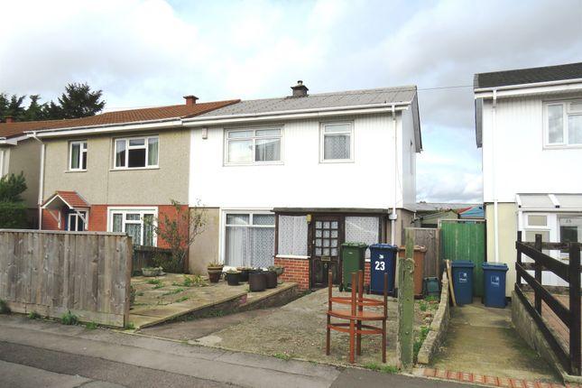 Thumbnail Semi-detached house for sale in Edgecombe Road, Headington, Oxford