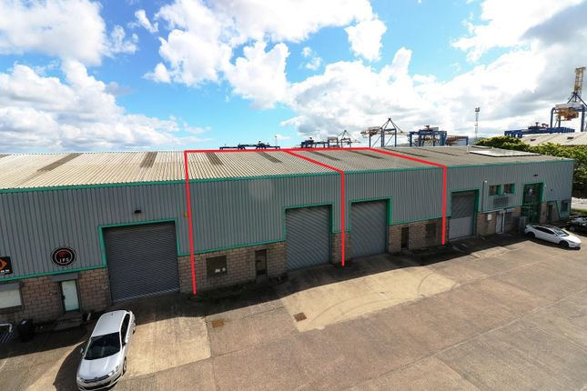 Thumbnail Warehouse to let in Units 3 & 4, 18 West Bank Road, Belfast, County Antrim