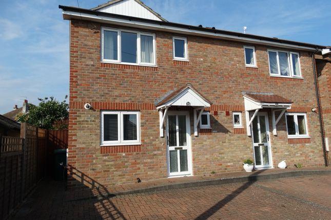 Thumbnail Semi-detached house for sale in Normanton Avenue, Bognor Regis