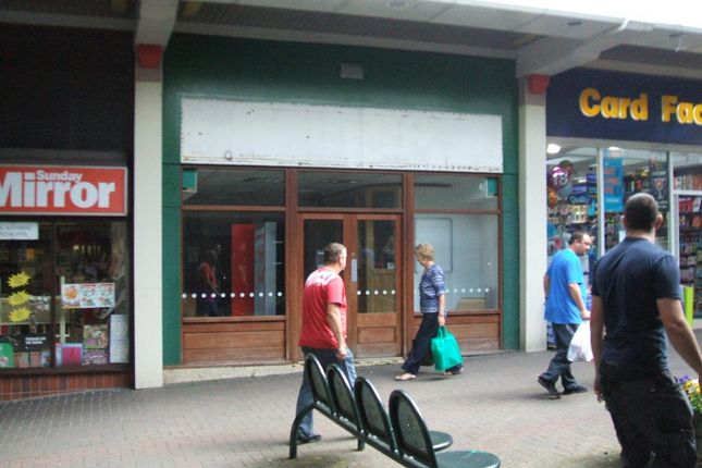 Retail premises to let in Gwent Shopping Centre, Tredegar
