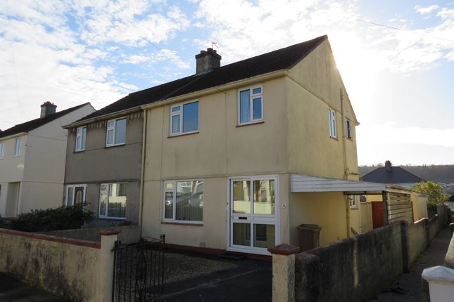 Thumbnail Semi-detached house for sale in Seymour Road, Plympton, Plymouth