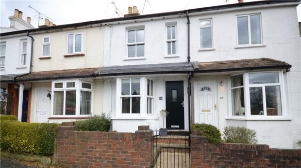 Thumbnail Terraced House For Sale In Adams Park Road Farnham Surrey