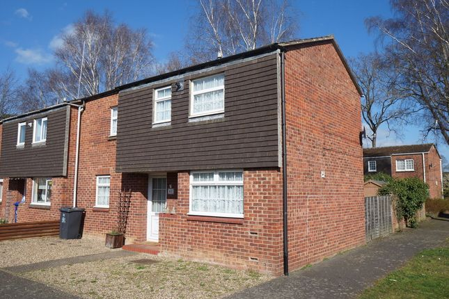 Thumbnail End terrace house for sale in Newnham Close, Mildenhall, Bury St. Edmunds