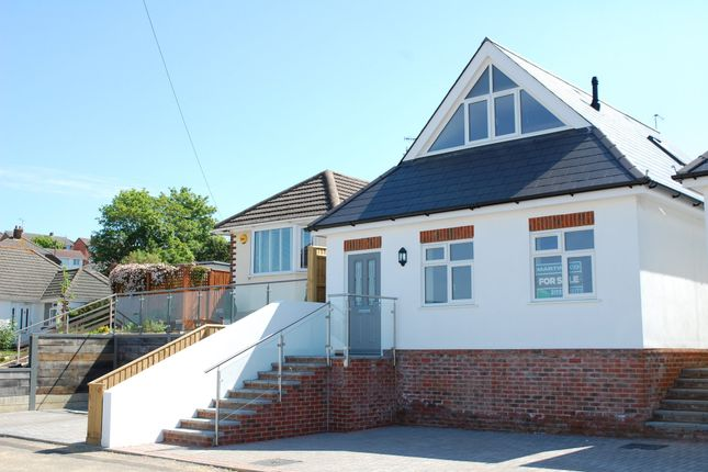 Thumbnail Detached bungalow for sale in Hythe Road, Oakdale, Poole