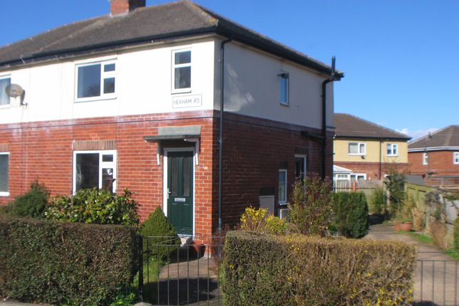 Thumbnail Semi-detached house to rent in Hexham Road, Newcastle Upon Tyne