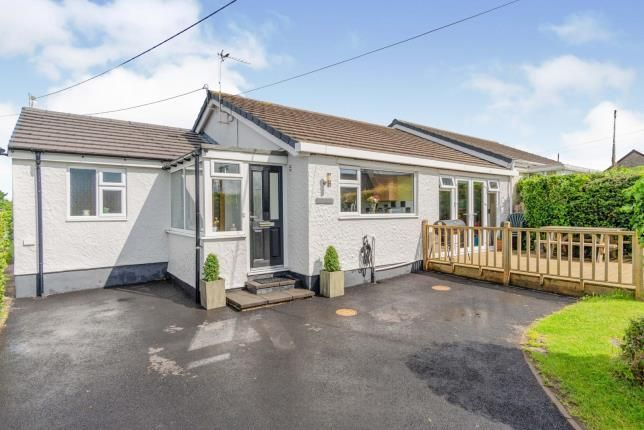 Thumbnail Bungalow for sale in Bwlch Mawr, Dwyran, Anglesey, North Wales