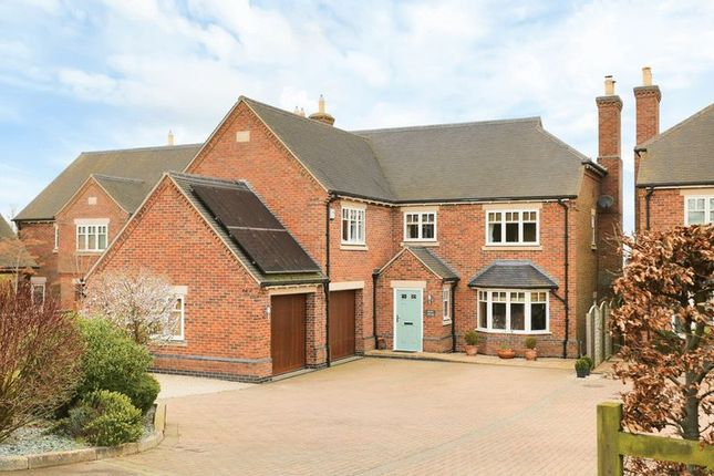 Thumbnail Detached house for sale in Leicester Road, Tilton On The Hill, Leicester