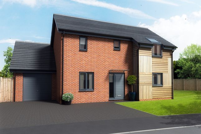 Thumbnail Detached house for sale in Whooper Close, Long Stratton, Norwich