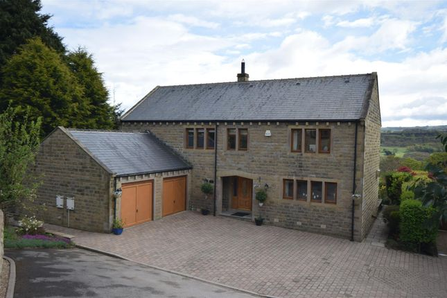 Thumbnail Detached house for sale in Hill Top, Scar Bottom Lane, Greetland