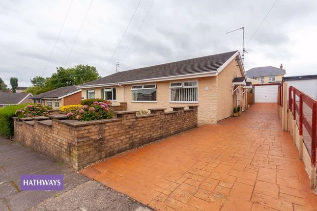 Thumbnail Semi-detached bungalow for sale in Heol Madoc, New Inn, Pontypool