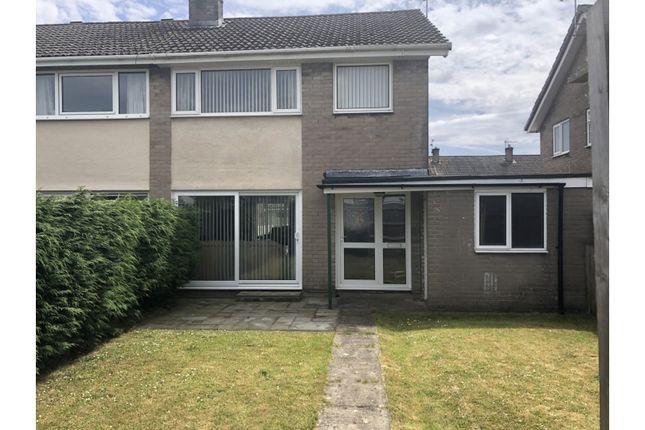 Thumbnail Semi-detached house for sale in Keats Road, Caldicot