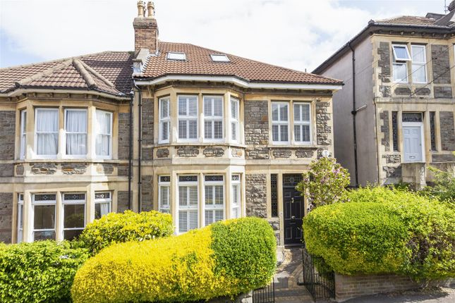 Semi-detached house for sale in Burghley Road, St Andrews, Bristol