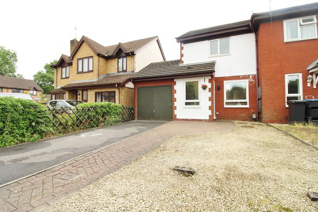 Thumbnail Semi-detached house for sale in Myrtle Close, Rogerstone, Newport