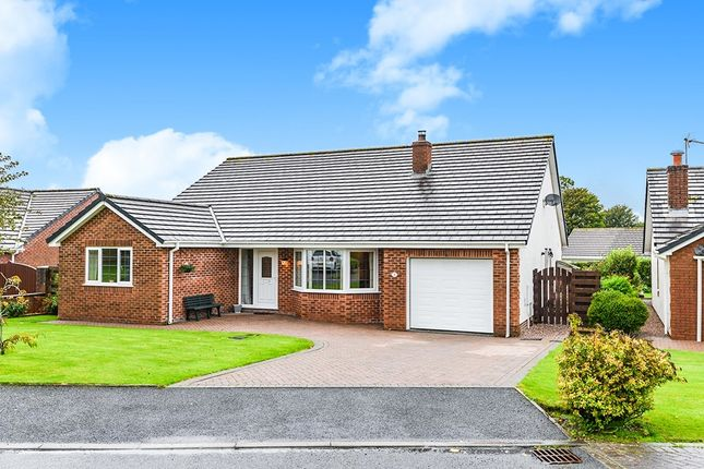 Thumbnail Bungalow for sale in Netherfield Close, Summer Grove Park, Whitehaven, Cumbria