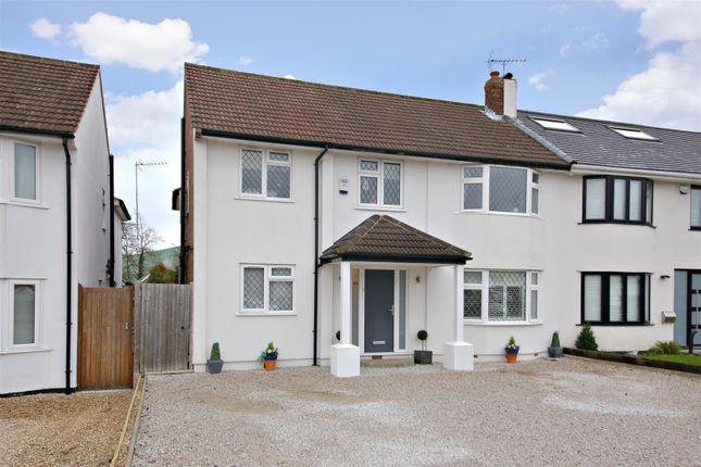Thumbnail Semi-detached house for sale in Park Crescent, Elstree, Borehamwood