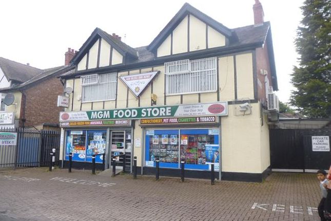 Thumbnail Retail premises for sale in 9-11, Meldon Road, Rusholme, Manchester