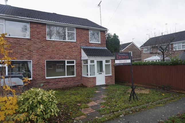 Thumbnail Semi-detached house to rent in Walgrave Close, Congleton