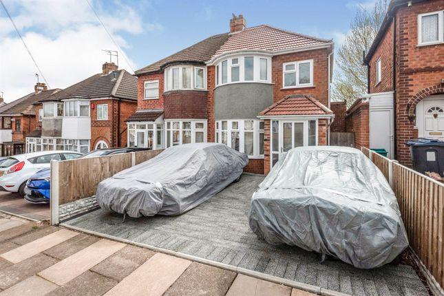 3 bed semi-detached house for sale in Sandringham Road, Great Barr, Birmingham B42