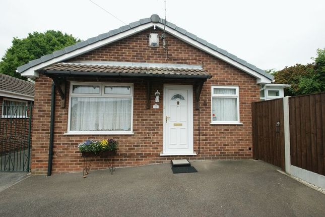 Thumbnail Detached bungalow for sale in Chilwell Court, Bulwell, Nottingham