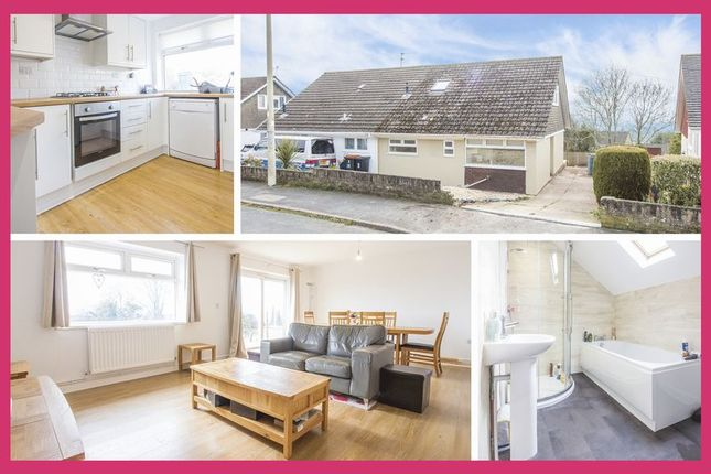 Thumbnail Bungalow for sale in Larkfield Close, Caerleon, Newport
