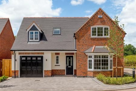Thumbnail Detached house for sale in Plot 3, The Oaks, Corley, Coventry