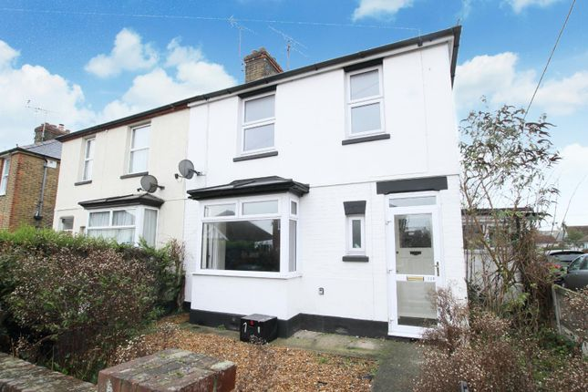 Thumbnail Semi-detached house for sale in Regent Street, Whitstable