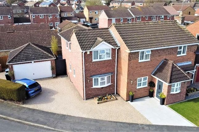 Thumbnail Detached house for sale in Heathbrook Drive, Ratby, Leicester