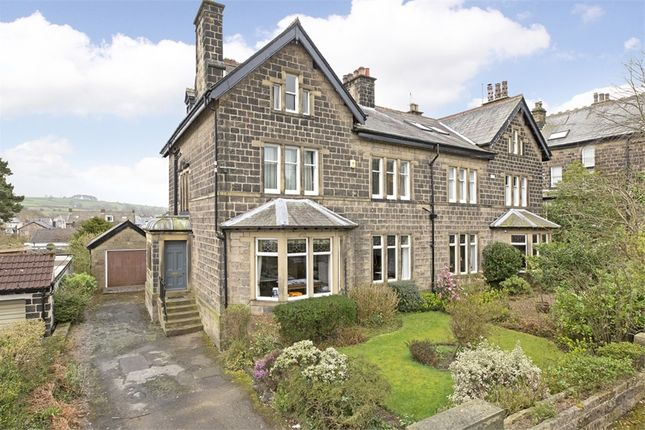Thumbnail Semi-detached house for sale in 21 Cleasby Road, Menston, West Yorkshire