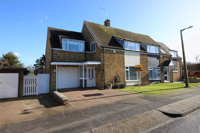 Thumbnail Semi-detached house for sale in Brooklane Field, Harlow