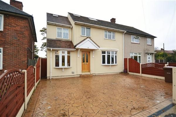 Thumbnail Semi-detached house for sale in Garron Lane, South Ockendon